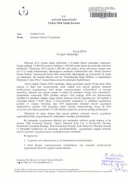 23 Mart 2015 Tarihli M1-N1 Aliağa - Yersat İhalesi 1. Teklif Sonuçları
