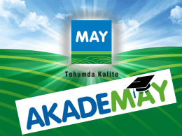AkadeMay - MAY Tohum