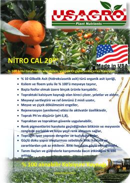 NİTRO CAL 20™