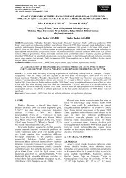 Download this PDF file - Ondokuz Mayıs Üniversitesi