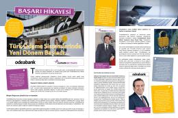 Türk Ödeme Sistemlerinde Yeni Dönem Başladı