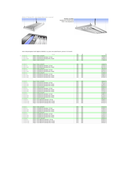 DomiLux Price List
