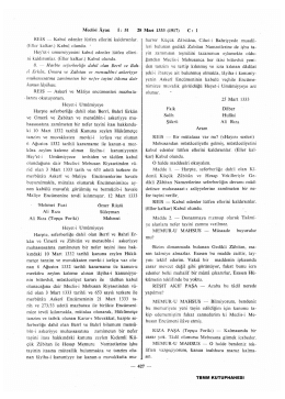 Meclisi Ayan İ : 51 28 Mart 1333 (1917) C : 1 REİS — Kabul edenler