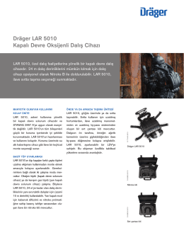 Product information: Dräger LAR 5010 (PDF)