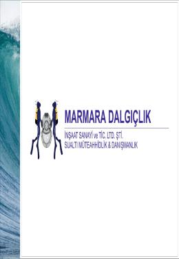 PDF Katalog - Marmara Diving