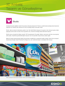 Studio: 3D Packaging Software for 3D Package Design