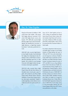 Doç. Dr. Toker Ergüder - İstanbul Sağlık ve Beslenme Bienali