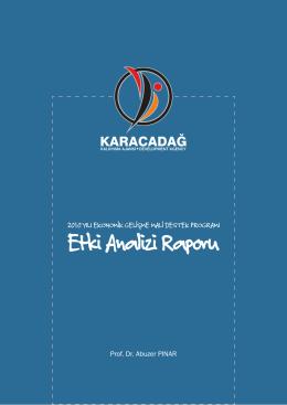 etki analizi kitap 2014 - Karacadağ Kalkınma Ajansı