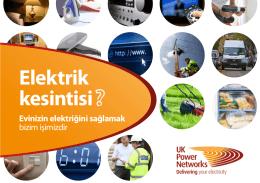 Evinizin elektriğini sağlamak bizim işimizdir [pdf]