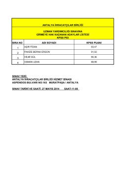 aib kpss p03 sınava girecek aday listesi web
