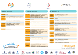 program 2 copy - İstanbul Sağlık ve Beslenme Bienali