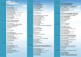 14.30 – 15.30 Oturum 4. TULAREMİ Oturum Başkanları: Prof. Dr