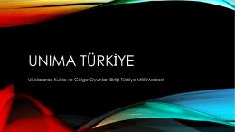 İncele-İndir - Unima Türkiye