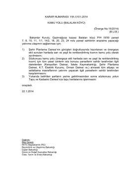 22.01.2014 - KKTC Başbakanlığı