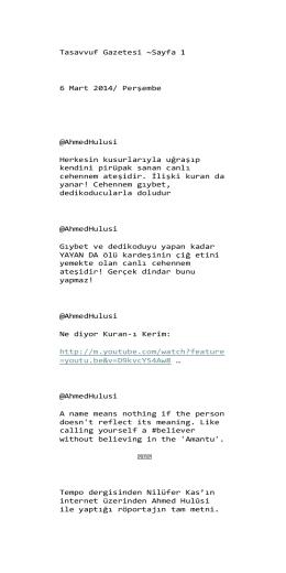 06 - Sufizm ve İnsan