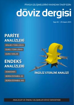 PARİTE ENDEKS - Döviz Dergisi