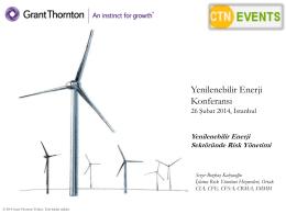 Sektöre Özgü İş Modeli - Grant Thornton Turkey