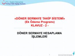 Ek Ödeme Programı - Türkiye Halk Sağlığı Kurumu