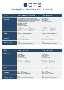 11 solvent.cdr - OTS Dijital Baskı Çözümleri