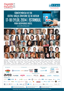 o tv p - Digital Health Summit Turkey