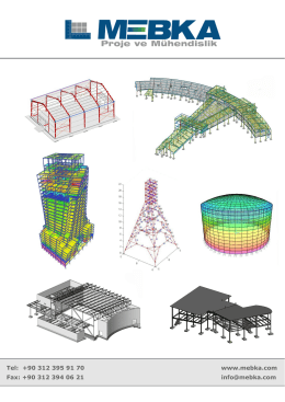 e-Katalog - MEBKA Proje ve Mühendislik Ankara