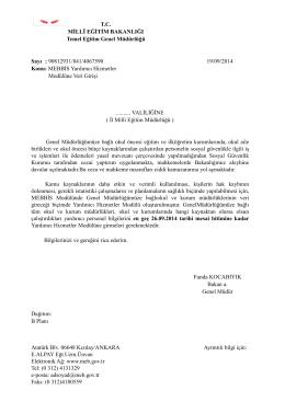 Atatürk Blv. 06648 Kızılay/ANKARA Ayrıntılı bilgi için: E.ALPAY Eğt