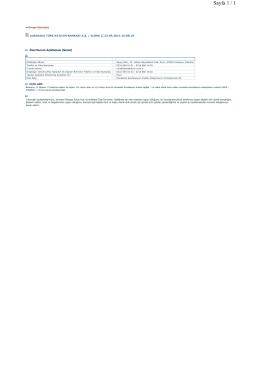 23.09.2014 - Murabaha Sendikasyon Kredisi