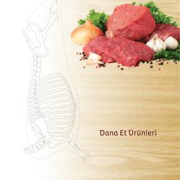 Dana Et Ürünleri