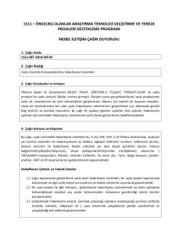 BİT- Mobil İletişim. 1511-BİT-2014-Mİ-05