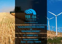 15 - 18 MART 2015 Limak Limra Hotels