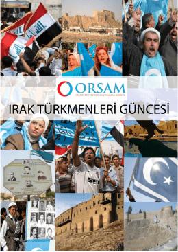 Türkmen Güncesi 1-15 Ağustos 2014