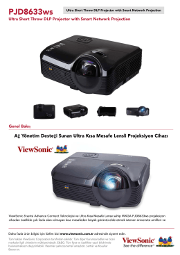 Ultra Short Throw DLP Projector with Smart Network