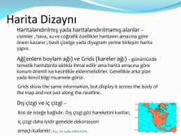 Harita Dizaynı - Saffet Erdoğan
