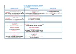özel pev okulları ortaokul etüt programı 27-31 ekim 2014