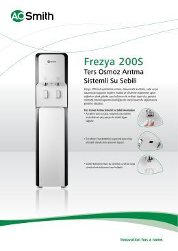 Frezya 200S - AO Smith Turkey
