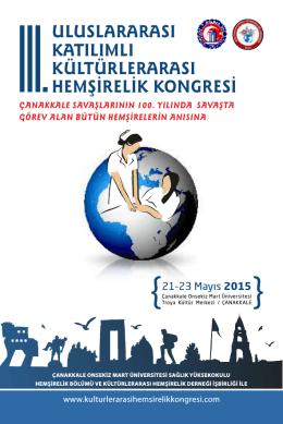 uluslararası katılımlı kültürlerarası hemşirelik kongresi