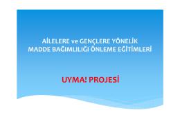 Proje tanıtım metni için tıklayınız…