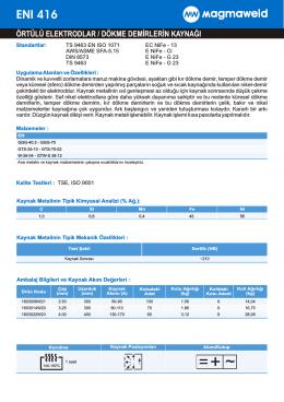 ENI 416 - Oerlikon Kaynak