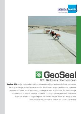 GeoSeal GCL, doğal sodyum bentonit