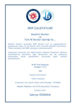 Türk Edebiyatı - Beykent Eğitim Kurumları