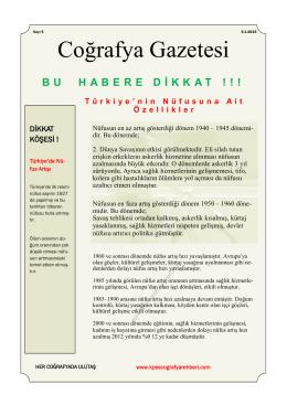 COĞRAYFA GAZETESİ - Kpss Coğrafya Rehberi
