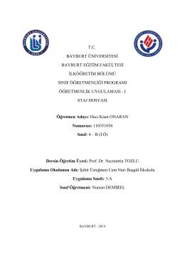 tc bayburt üniversitesi bayburt eğitim fakültesi