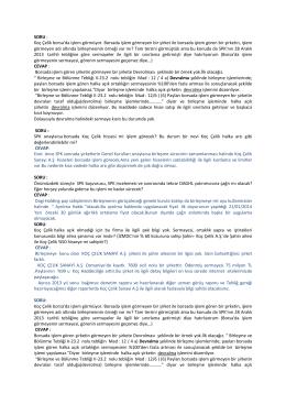 SORU - Anasayfa / Dagi Yatırım Holding A.Ş