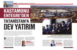 HABER / KASTAMONU ENTEGRE - TATARİSTAN