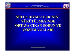 İndir (PDF, 1.04MB) - Osmaniye İl Nüfus ve Vatandaşlık Müdürlüğü