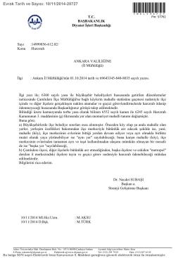Büyükşehir sınırları ve harcırah yeni durum