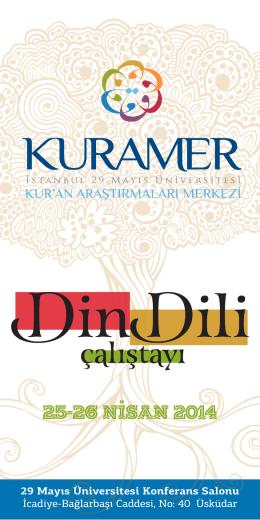 kuramer - Marmara Üniversitesi