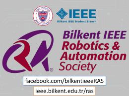 buradan - Bilkent IEEE