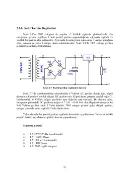 Temel Elektrik Elektronik Deney4 (Baskı Devre)