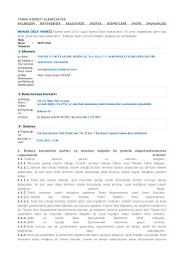 Dosya - Balıkesir Belediyesi